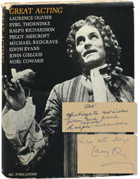 image of Great Acting (First Edition, inscribed by Laurence Olivier and Ralph Richardson)