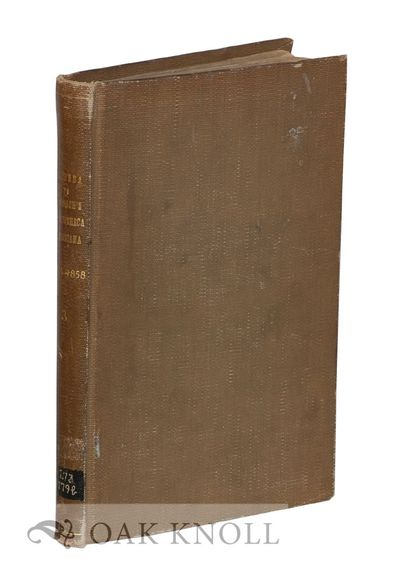 New York, NY: Wiley & Halsted, 1858. cloth, title gilt-stamped on spine. 8vo. cloth, title gilt-stam...