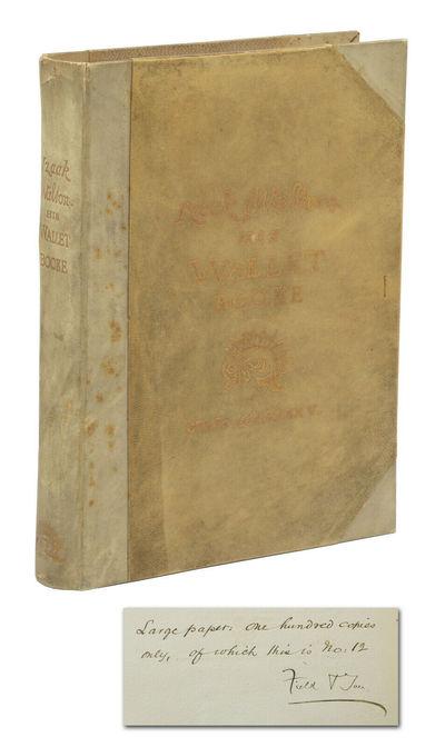 Izaak Walton: His Wallet Booke