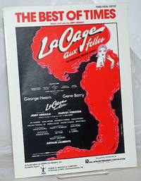 image of The Best of Times: piano/vocal/guitar sheet music from La Cage aux folles