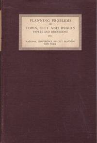 Planning Problems of Town, City, and Region: Papers and Discussions at the Twenty Third National...