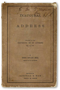 Inaugural Address Delivered to the University of St. Andrews, Feb. 1st 1867
