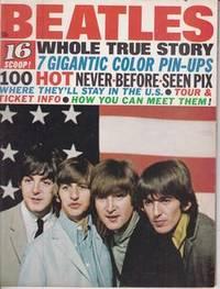 THE BEATLES Whole True Story Magazine JOHN LENNON Paul McCartney GEORGE HARRISON Ringo Starr 16...