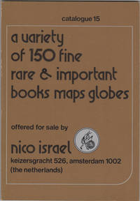 A variety of 150 Fine Rare & Important Books Maps Globes. Catalogue 15