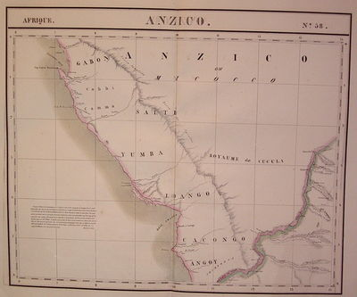 Brussels: Vandermaelen, Phillippe Marie, 1827. unbound. very good. Map. Large format lithograph of W...