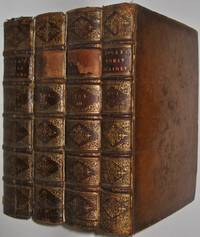 ANCIENT ROMAN HISTORY. FIRST EDITION, 1738. Hooke's Rome.  Leather Library Set. THE ROMAN...