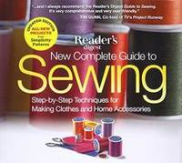 image of New Complete Guide to Sewing: Step-by-Step Techniques for Making Clothes and Home Accessories
