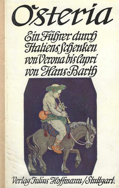 Stuttgart: Julius Hoffmann Verlag, 1908. Octavo (18 x 11.5 cm.), xv, 229, pages. Index. Advertisemen...