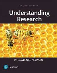 Understanding Research, Books a la Carte (2nd Edition) by W. Lawrence Neuman - 2016-06-03