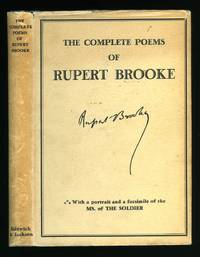 The Complete Poems Of Rupert Brooke By Brooke Rupert