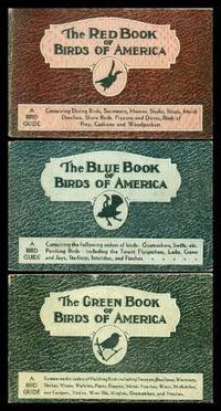 BIRDS OF AMERICA - The Red Book; The Blue Book; The Green Book