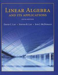 image of Linear Algebra and Its Applications; Student Study Guide for Linear Algebra and Its ApplicationsStudent Study Guide for Linear Algebra and Its Applications (5th Edition)