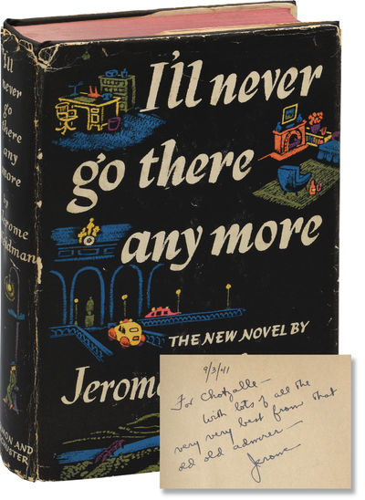 New York: Simon and Schuster, 1941. First Edition. First Edition. INSCRIBED by the author in the yea...