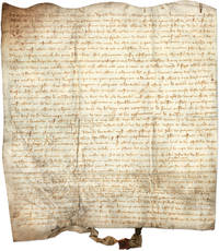 Marriage Contract, York, England, 1345, in Anglo-Norman