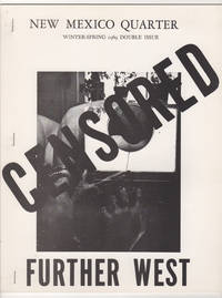 New Mexico Quarter : Censored : Further West (Winter-Spring 1969 Double Issue)