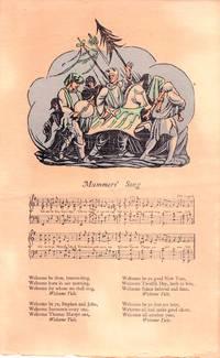 Here's to Mumming! Here's to Christmas, the Season of Mumming