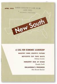 New South. Vol. 11, no. 4 (April, 1956)