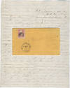 View Image 1 of 3 for CAVALRY LIFE DEFENDING WESTERN TRAILS IN THE DAKOTA TERRITORY. Flirty letter to a girl he left behin... Inventory #009617