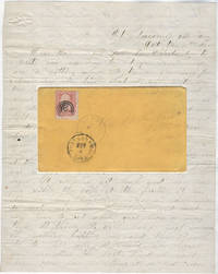 CAVALRY LIFE DEFENDING WESTERN TRAILS IN THE DAKOTA TERRITORY.  Flirty letter to a girl he left behind from a cavalry trooper stationed at Fort Laramie describing his isolated life and ongoing battles with the Sioux and Cheyenne