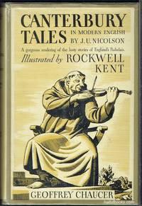 image of Canterbury Tales Rendered Into Modern English By J. U. Nicolson