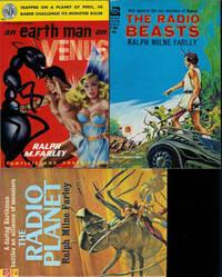 """MYLES CABOT THE RADIO MAN ON VENUS"" BOOKS: An Earth Man on Venus (aka The Radio Man) / The Radio Beasts / The Radio Planet"