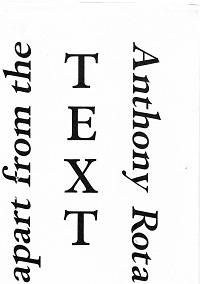 image of Apart from the Text