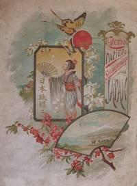 Papier-Schmetterlinge Aus Japan.Nach Skizzen Des Verfassers Illustrirt Von Paul Bender