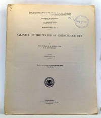 Salinity of the Water of Chesapeake Bay. Shorter contributions to general geology, 1928