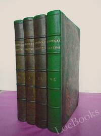 CURTIS'S BOTANICAL MAGAZINE; OR, Flower-Garden Displayed. Vols. 49, 50, 51, & 52. [4 volumes bound with  hand-coloured plates]