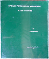 OPENVMS Performance Management: Rules Of Thumb