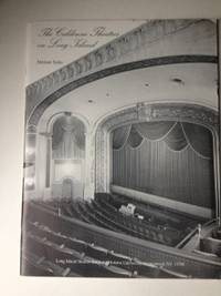 The Calderone Theatres On Long Island An Introductory Essay and Description of the Calderone Theatre Collection at Hofstra University