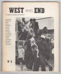 West End, Volume 1, Number 4 (Spring 1973)