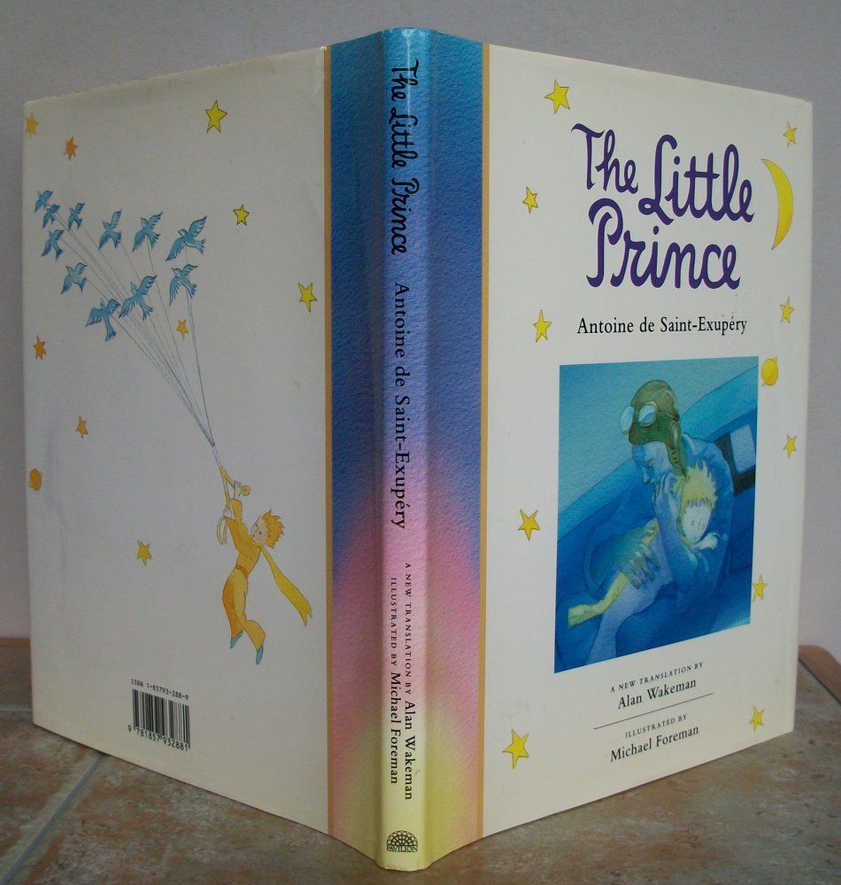 Little Prince Antoine de Saint-Exupery New Illustrated Deluxe Gift Hardcover