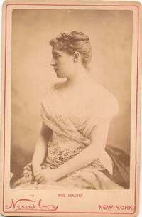 Albumen photograph on photographer's mount, Newsboy, New York