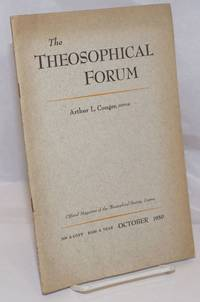 image of The Theosophical Forum: Official Magazine of the Theosophical Society, Covina; Vol. XXVII, No. 10, October 1950