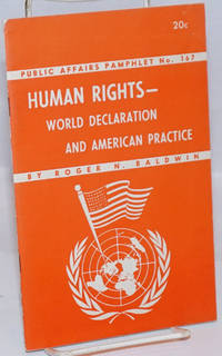 Human Rights-World Declaration and American Practice