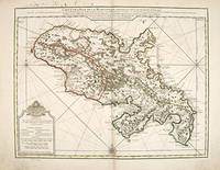 CARTE DE L'ISLE DE LA MARTINIQUE, by  Guillaume DELISLE - 1732 - from Peter Harrington (SKU: 55254)