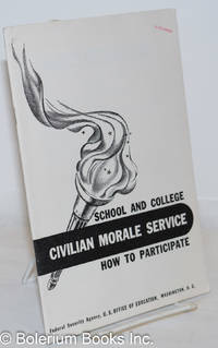 image of School and college civilian morale service: how to participate