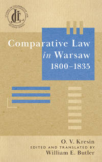 Comparative Law In Warsaw 1800-1835