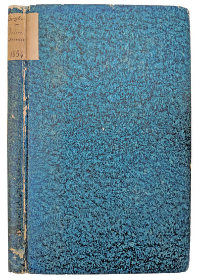 Tubingen:: Heinrich Laupp, 1835., 1835. 8vo. , 206 pp. Early German blue paste-paper over boards, ma...