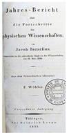 View Image 3 of 3 for Jahres-Bericht uber die Fortschritte der physischen Wissenschaften von Jacob Berzelius. Eingereicht ... Inventory #EEG1024