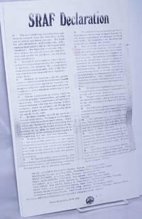image of SRAF Declaration