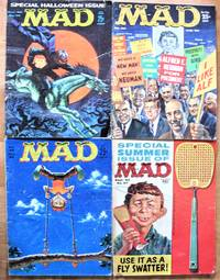 Mad Magazine. 8 Issues From 1960. Includes: Nos. 52 January, 53 March, 54 April, 55 June, 56 July, 57 September, 58 October, and 59 December