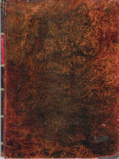 Paris: Herbert Clark Printer, 1926. Second Impression. leather_bound. Full contemporary stained roan...