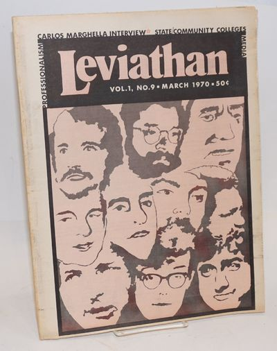 San Francisco: V.R.-Leviathan Publications, 1970. Newspaper. 40p., tabloid underground newspaper, ar...