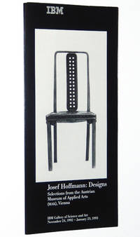 Josef Hoffmann, Designs, Selections from the Austrian Museum of Applied Arts, Vienna