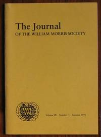The Journal of the William Morris Society Volume IX Number 3 Autumn 1991
