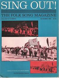 """""""SING OUT! THE FOLK SONG MAGAZINE"""", Volume 16, Number 5, November 1966"""