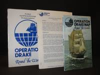 Operation Drake, Round the World (Prospectus) / Operation Drake Map: (Precursor to Operation Raleigh/Raleigh International) [SIGNED]