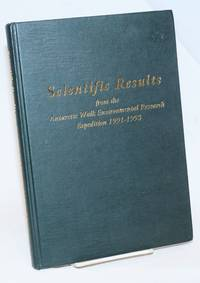 image of Scientific Results from the Antarctic Walk Environmental Research Expedition 1991-1993